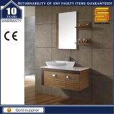 Санитарный шкаф мебели ванной комнаты меламина изделий с зеркалом