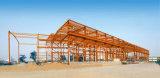 Edificio de la estructura de acero con galvanizado/la pintura