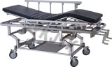 Bed di plastica Base Stretcher Cart con Four Castors