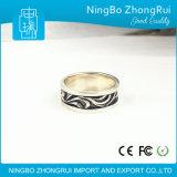 Monili di modo 925 ricordi dell'anello degli uomini dell'anello dell'argento sterlina