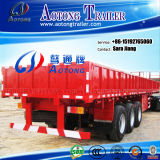 Sale를 위한 세 배 Axle 다중 Functional Flatbed Side Wall Trailer