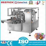 Machine de conditionnement de joint de remplissage de sachet réformé rotatif (RZ6 / 8-200 / 300A)