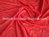Única tela de seda de Jersey, tela de seda pura para o roupa interior