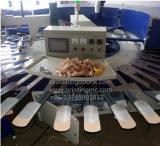 Peúgas automáticas de alta velocidade do PVC que pontilham o plástico da máquina que pontilha a maquinaria