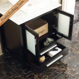 Fed-1181A Espresso-freie Stellung über eingehangenen keramische Wannen-hölzernen Badezimmer-Schränken