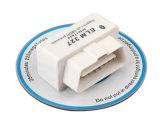 Programa de lectura de código auto de Elm327 OBD Bluetooth OBD2 del blanco (placas dobles V2.1)