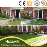 Tappeto erboso sintetico multicolore di W-Figura delle decorazioni del giardino da vendere