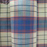 Il filato tessuto 100% del popeline di cotone ha tinto il tessuto per le camice/vestito Rls50-15po