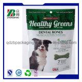ジッパーロックが付いているプラスチック飼い犬の食品包装袋