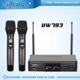 Microphone à frèquence fixe professionnel sans fil Pll-Synthétisé de fréquence ultra-haute