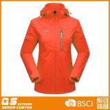 El invierno colorido de las mujeres calienta 3 en 1 chaqueta