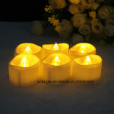 Wedding Decoration를 위한 Warmer Light를 가진 전자 Tealight Candle