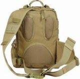 Sacs multifonctionnels d'épaule de Brown de sac de sac extérieur simple de sport