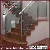 Sistemas de cristal de acero de la barandilla de la escalera moderna de la casa (DMS-B2112)