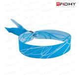 Altos níeses do Wristband Eco-Friendly da tela da segurança RFID para o pagamento