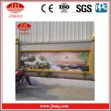 Balustrade en aluminium de mur rideau de peinture d'enduit de PVDF (Jh155)