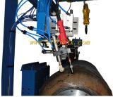 O dobro Torches o dispositivo circunferencial da soldadura de emenda para o tanque de água solar