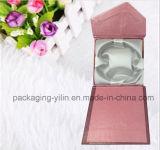 Более дешевая горячая коробка браслета бумаги сбывания с тесемкой
