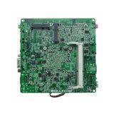 Bucht-HinterFanless J1800 Nano Fanless eingebetteter industrieller Motherboard 2 LAN COM/2