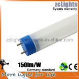 LED Tube Luminaire를 위한 T8 Tube Light Plastic LED Light