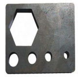 Machine de découpage de laser de porte d'acier inoxydable