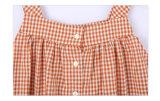 El verano 100% del algodón embroma la ropa para las muchachas
