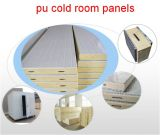 Vente en gros Isolation en polyuréthane Aluminium PU Fabricant Isolé Sandwich Cold Room Panels