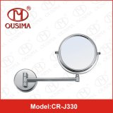 Hotel Bathroom Brass e Stainless Steel Makeup Mirror