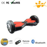 E-Vespa de equilibrio LED y Bluetooth del uno mismo eléctrico de la rueda del balance dos