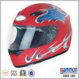 点のDargonデザイン太字のモーターバイクのヘルメット(FL119)