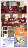 居間の家具(YF-D511)のための側面表が付いている革ソファー