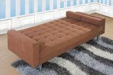 Cama de sofá moderna superventas de la tela Hc519