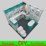cabina de la exposición de Versatile&Reusable del Portable de los 3X3m para el comercio justo