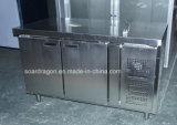 Холодильник счетчика нержавеющей стали CE