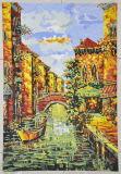 Mosaico mural del vidrio de Italia Mosaico del cuadro de Mosaico del mosaico