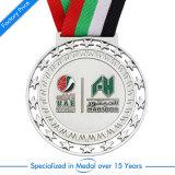 Andenken-Sport-2D Basketball-silberne Decklack-Medaille für UAE