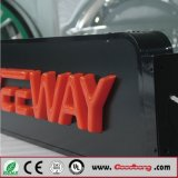 Tabellone per le affissioni su ordinazione impermeabile dell'acrilico LED di pubblicità esterna