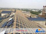 石造りの上塗を施してある屋根フィリピンは、覆われた鋼鉄屋根ふきに投石する