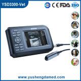 Scanner diagnostico veterinario approvato di ultrasuono della strumentazione del CE (YSD3300-Vet)