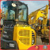0.1~0.5cbm/5000kg Japón/mini excavador usado hidráulico Global-Favorecido de la correa eslabonada de la retroexcavadora de KOMATSU PC55mr