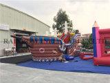 nave de pirata inflable de la alta calidad del PVC de 0.5m m Platón para los cabritos
