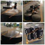 Lamelliertes Rubber Bridge Bearing Pad mit Aashto Standard Sold nach Oman