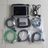Étoile C4 de mb avec la tablette raboteuse de diagnostic de Xplore IX104 I7CPU
