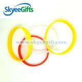 Wristband del silicone degli uomini freddi su ordinazione della fabbrica