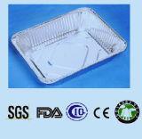 Respetuoso del medio ambiente y eliminación para la bandeja del papel de aluminio del uso de la cocina