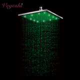200mm Square Bathroom Rain Shower LED Shower Head