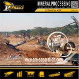 Minería de molienda de la máquina de mercurio de material húmedo Pan Mill para el oro