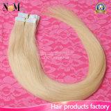 Brasilianischer Jungfrau-Haar PU-Haut-Einschlagfaden mit Mikro bördelt Haar-Extension