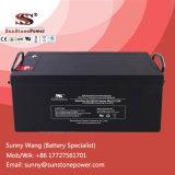 Batterie profonde de gel de cycle 12V 220ah pour la pompe à eau solaire