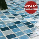 Mosaico de cristal de fusión en enlace de la pila del rectángulo del color de la mezcla (BGZ013)